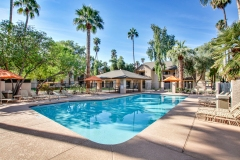 Pool, Multifamily Property in Mesa, AZ - Architectural and Commercial Real Estate Photography by Kirk Krein, Phoenix, AZ - East Valley  including Mesa, Gilbert, Chandler, Tempe and Scottsdale, AZ