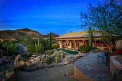 Thunder Mountain Twilight Image Mesa, AZ By Architectural Photographer Kirk Krein