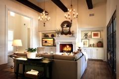 Family Room Interior by Kirk Krein