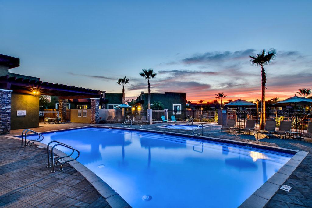 Complex in Gilbert, AZ by Kirk Krein
