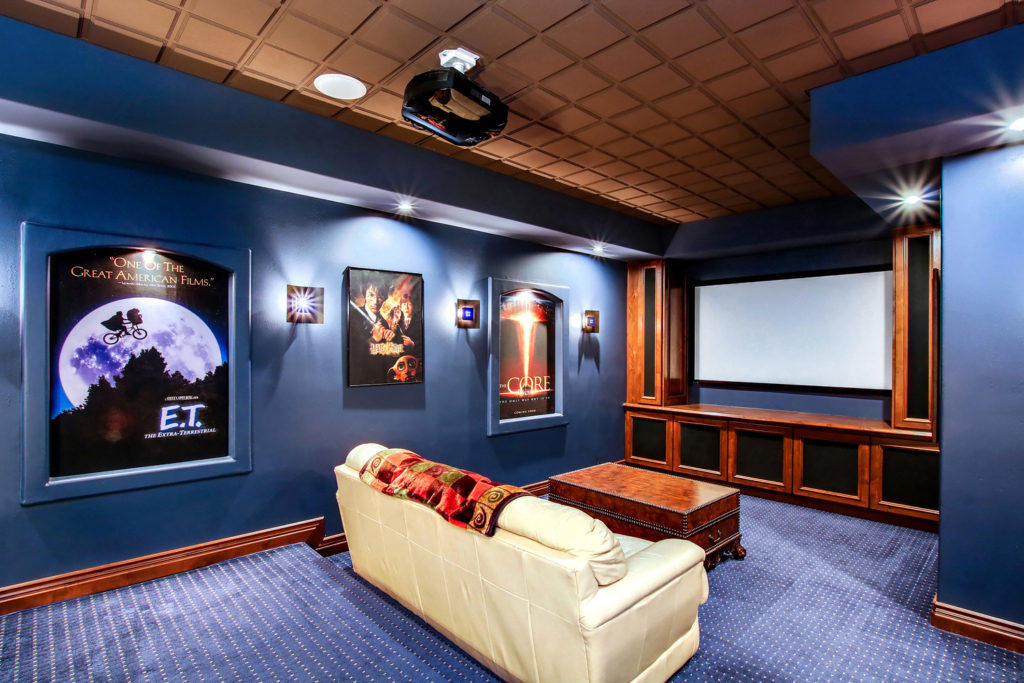 Phoenix, AZ Home Theater Room by Kirk Krein Photography