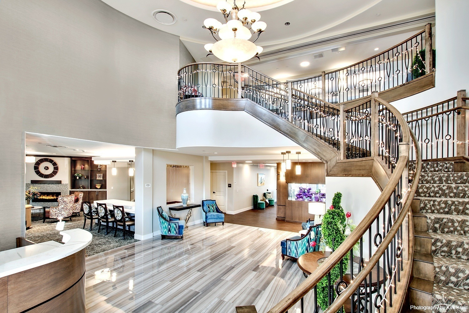 Assisted Living Facility Main Lobby